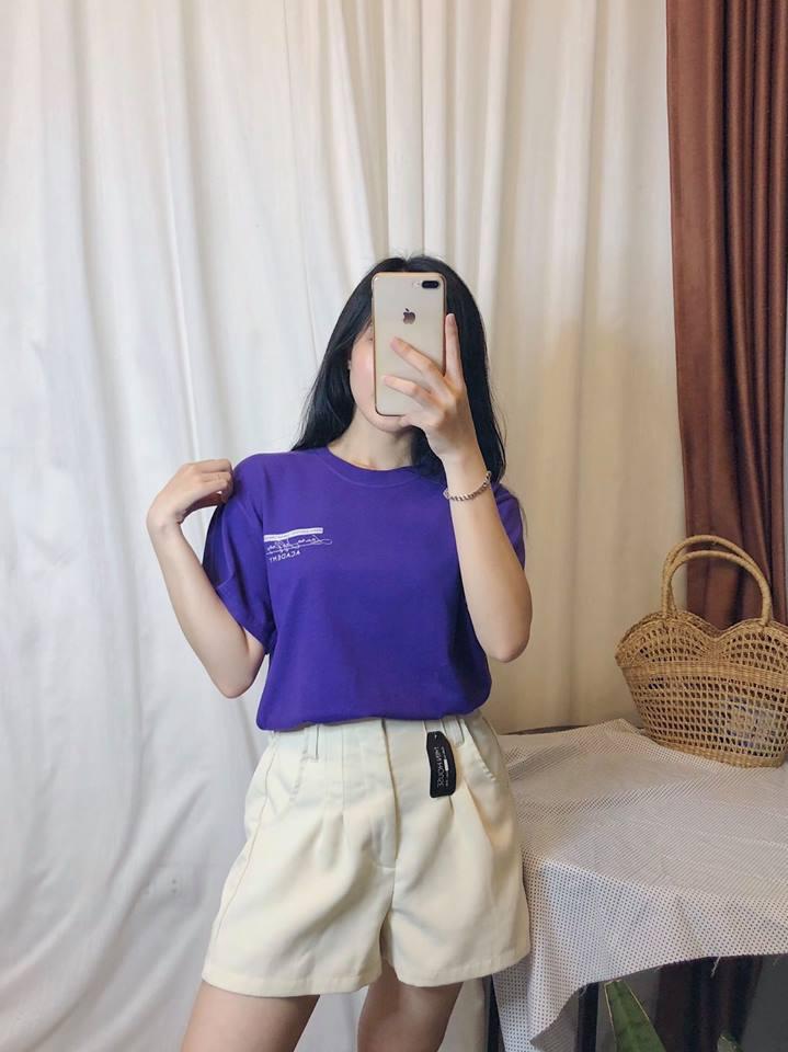 Áo phông Hàn Quốc – món đồ không thể thiếu của các cô nàng