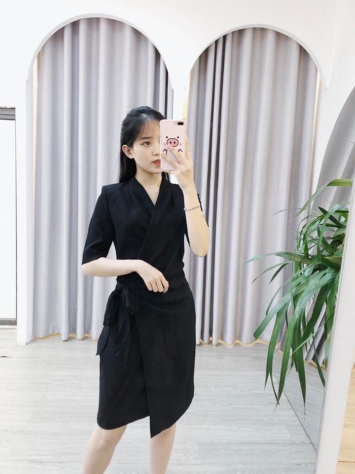 Bộ sưu tập đầm đen sang trọng tại Min House
