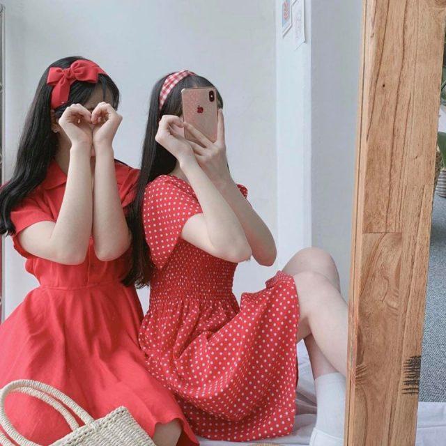 Màu đỏ - sắc màu không thể thiếu của những cô nàng sành điệu