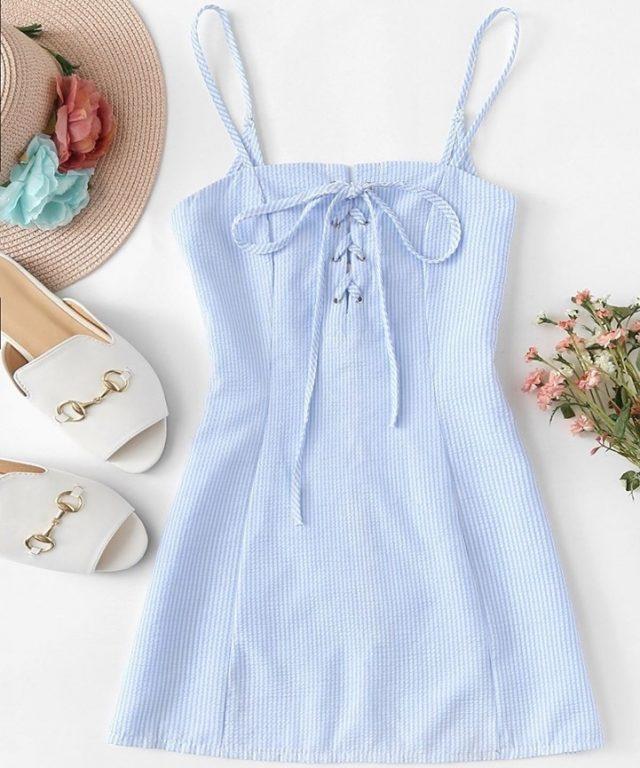 Váy 2 dây mảnh – món đồ siêu hot cho các nàng cực sexy