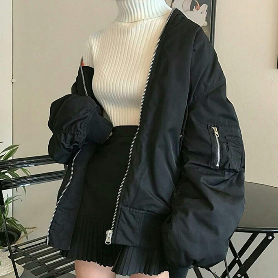 Ấm áp, tiện lợi lại thời trang với áo len cổ lọ