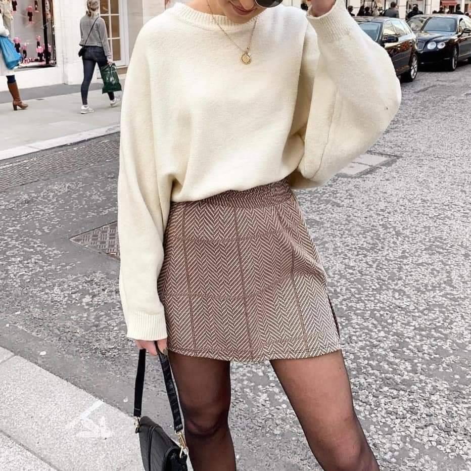 Diện áo len cánh dơi sao cho thật đẹp và ấn tượng?