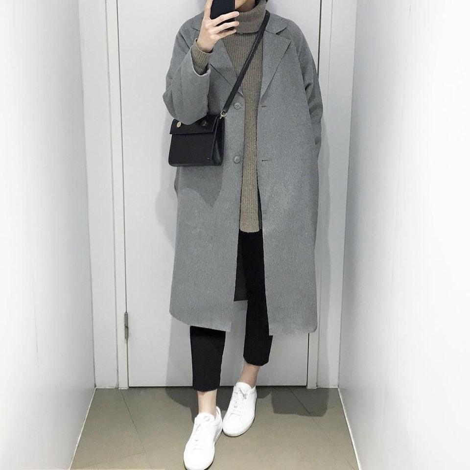 Mặc áo dạ dáng dài như nào cho đẹp và thời trang?