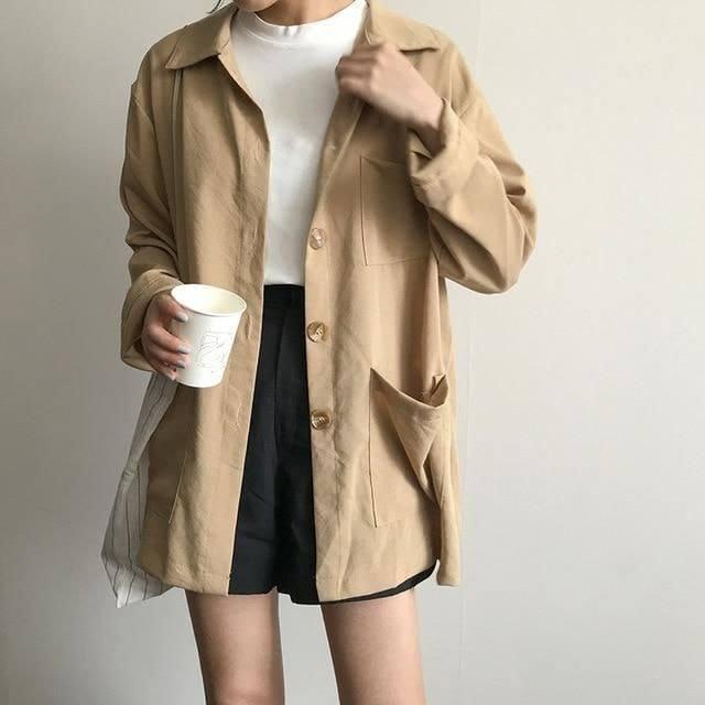 Những kiểu áo khoác mỏng không thể thiếu khi thu về