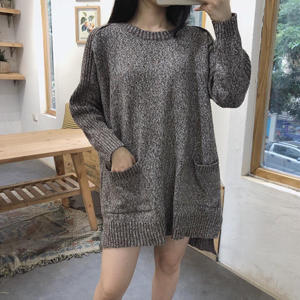 Sành điệu, cá tính với áo len dáng dài trong mùa thu đông