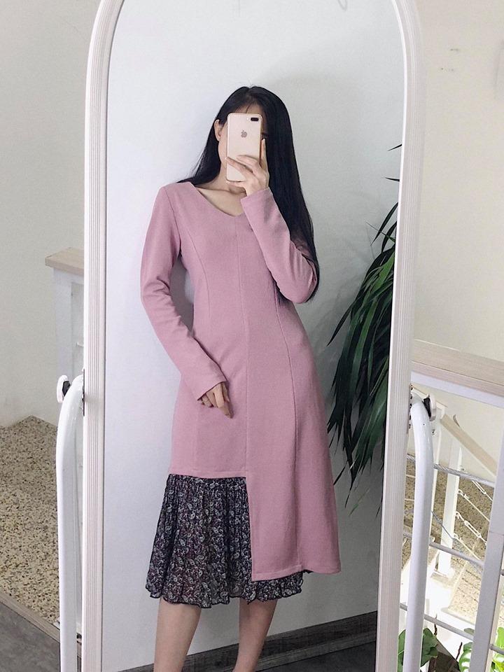 Váy liền dáng đuôi cá nữ tính, phong cách cho mùa chớm đông