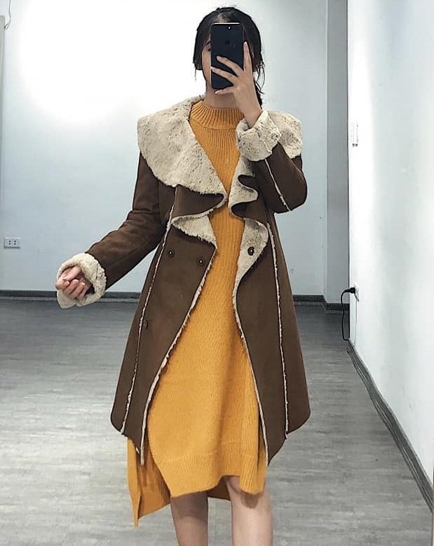 Áo khoác da lộn – siêu sành điệu mà không hề lỗi mốt
