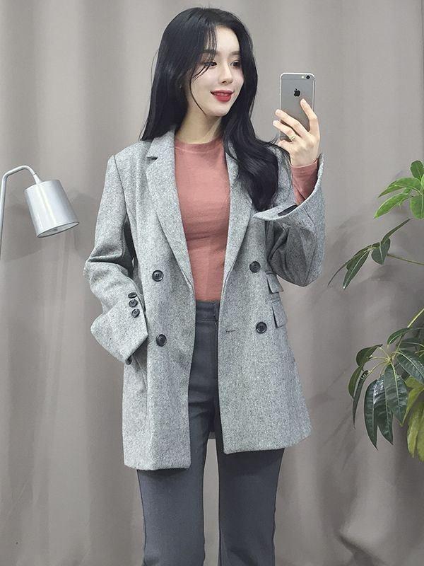 Phối đồ thật xinh cho cô nàng theo phong cách Hàn trong mùa đông này
