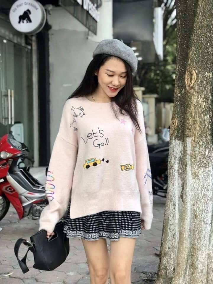 Xinh như gái Hàn với các mix đồ cùng mũ nồi siêu cute