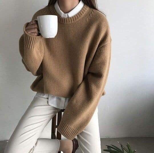 Diện áo len oversize sao cho thật xinh, thật sành điệu?