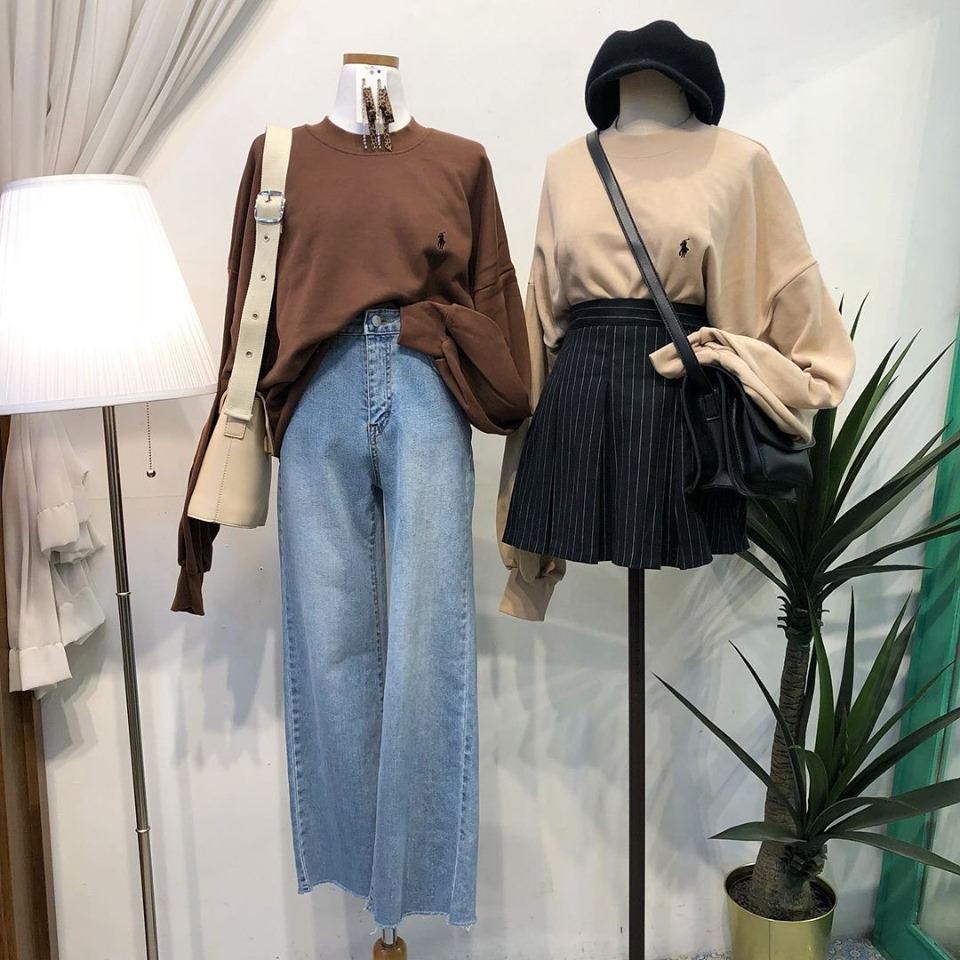 Mặc đẹp theo phong cách thời trang học sinh Hàn Quốc