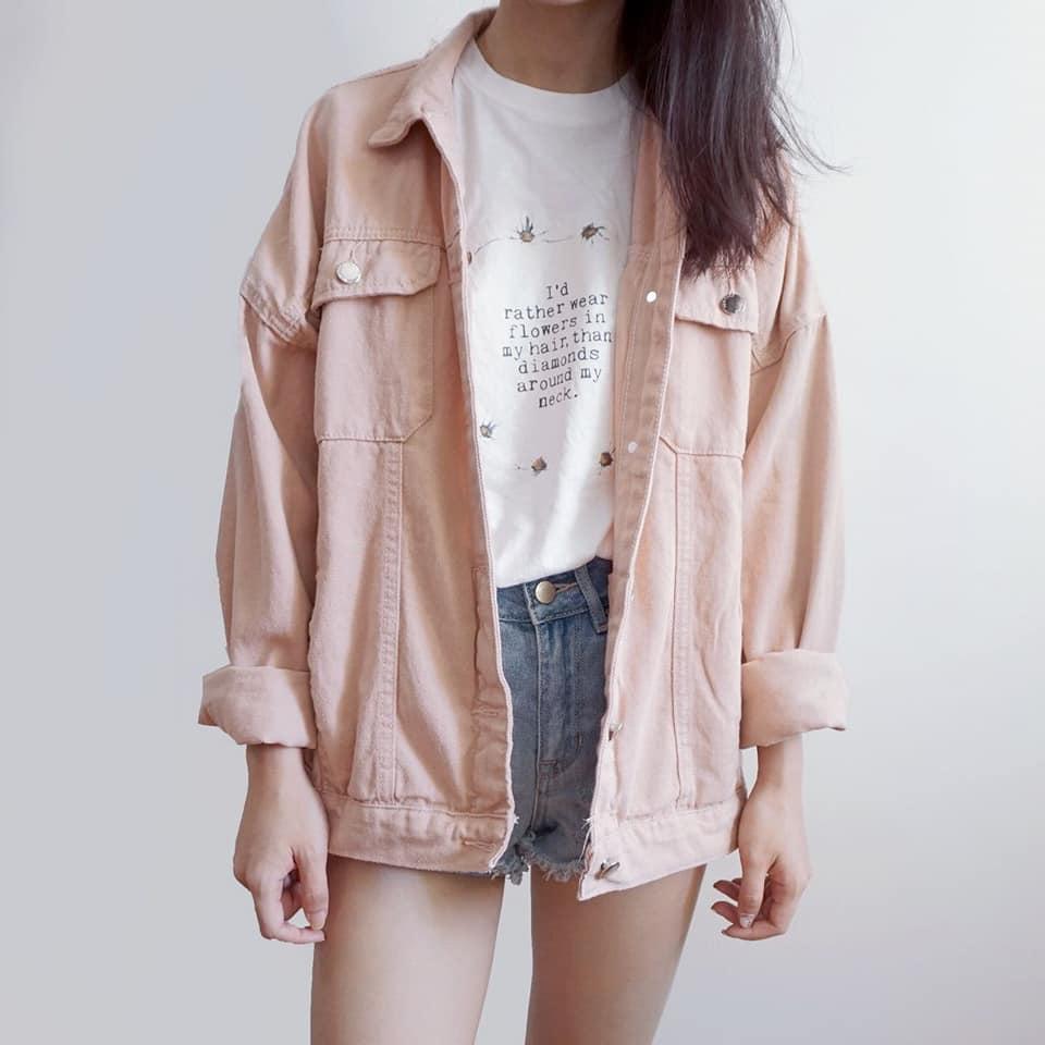 Mùa thu ngọt ngào với áo khoác mỏng nhẹ, năng động