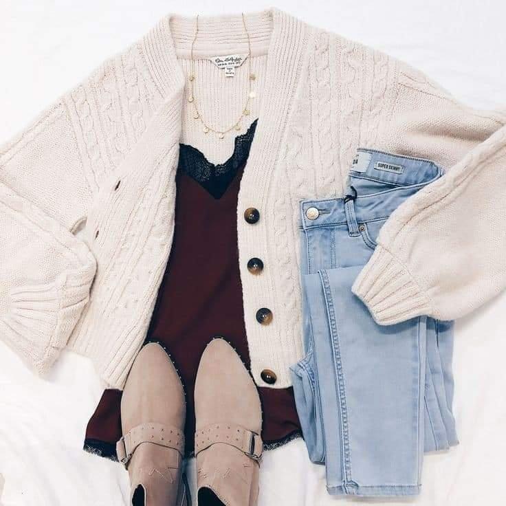 Trẻ trung, năng động với áo khoác len dáng ngắn