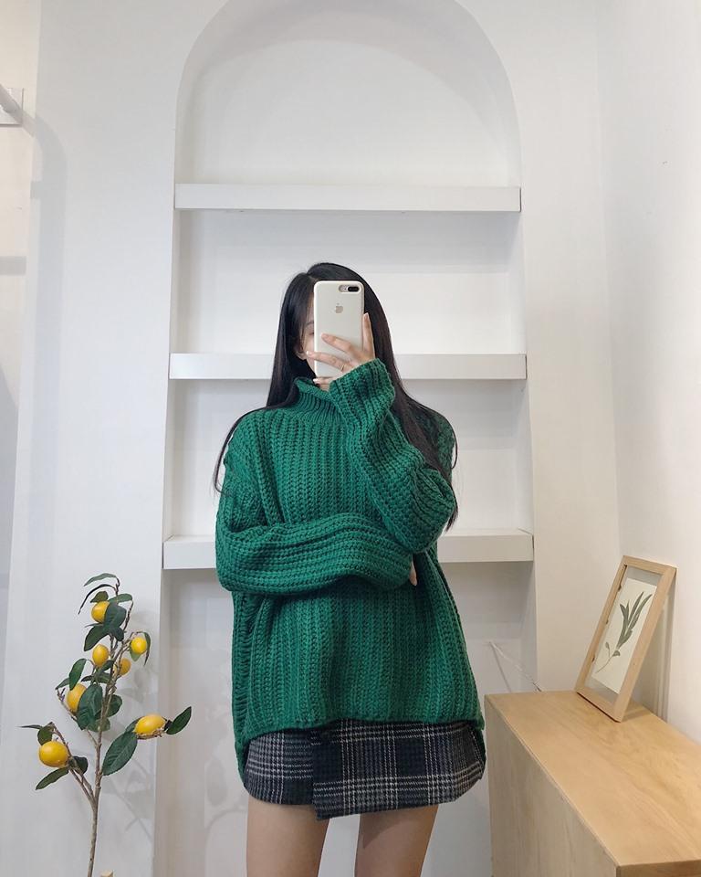 Xanh rêu – màu sắc thời trang thời thượng cho các cô nàng