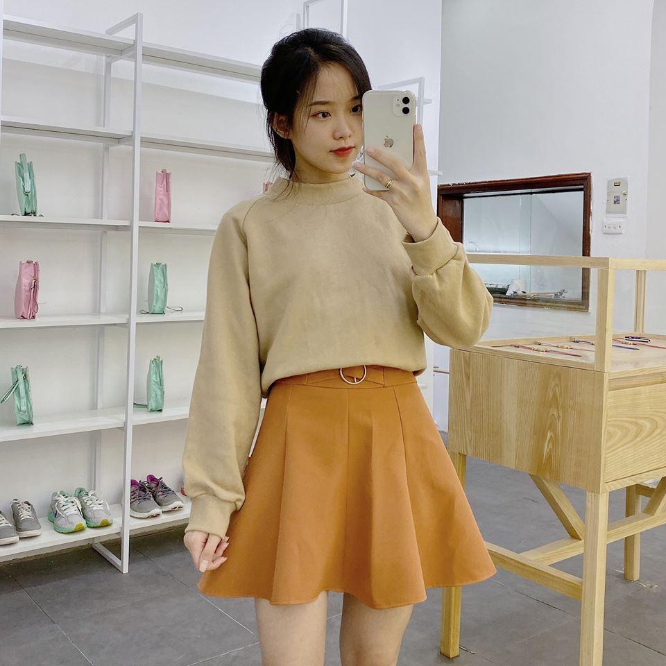 1001 kiểu chân váy ngắn tại Min cho nàng xinh chuẩn Hàn Quốc