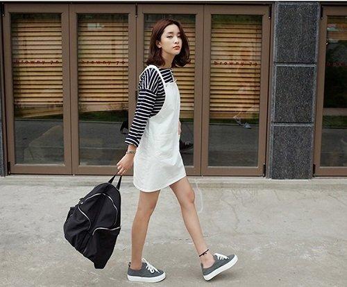 7 cách phối đồ với giày thể thao cho bạn nữ chuẩn sành điệu