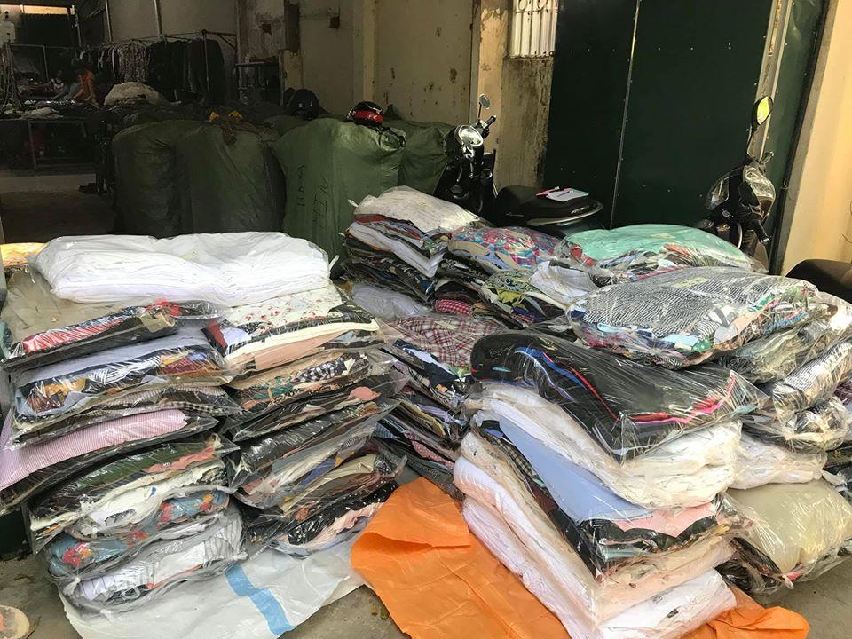 Bán buôn quần áo hàng thùng