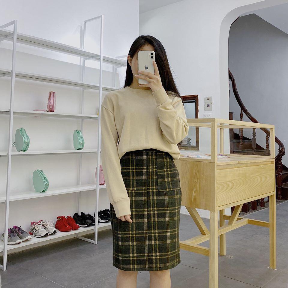 Chân váy bút chì và cách mix siêu thanh lịch cho nàng công sở