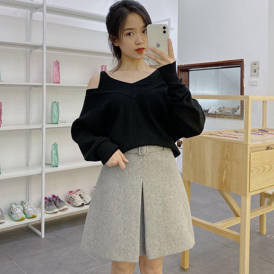 Chân váy ngắn chữ A mặc sao cho chuẩn dáng người?