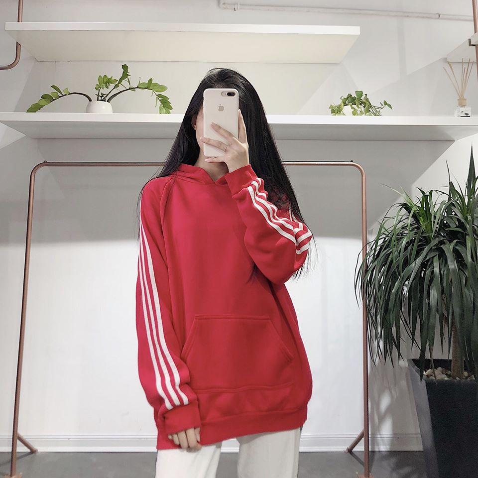 Mix áo nỉ cho các nàng trông thật cá tính, năng động chuẩn Hàn Quốc