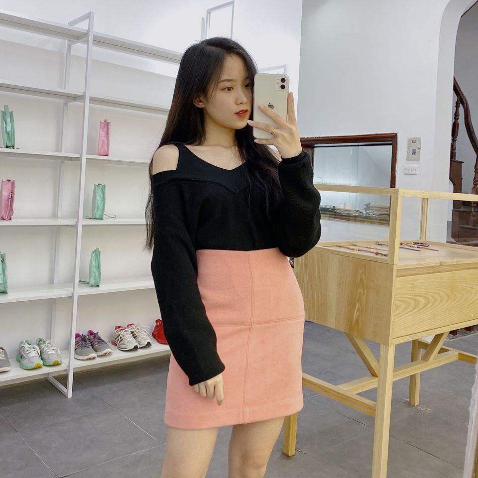 Siêu ngọt ngào với chân váy hồng đủ cấp độ cùng Min
