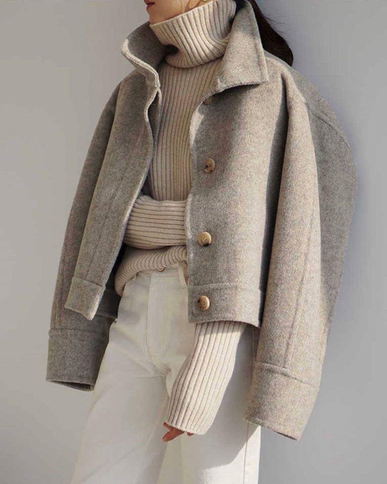 Áo dạ ngắn – gọn gàng, sang trọng mà vẫn vô cùng ấm áp