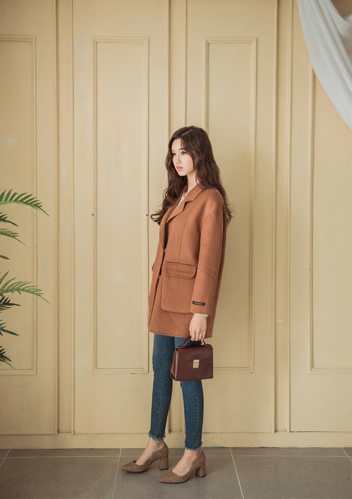 Áo khoác dạ xù – vừa sang vừa đẹp cho nàng diện đông