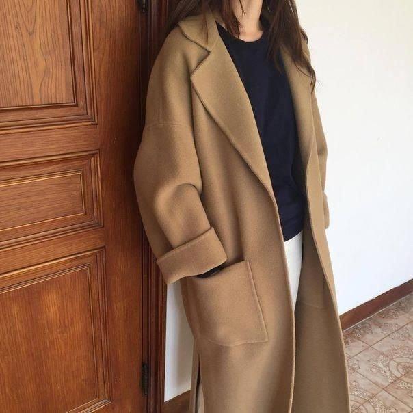 Áo khoác dáng dài cho nàng dịu dàng đón tết