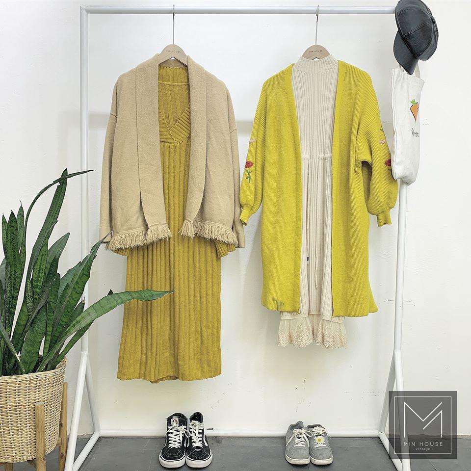 Áo khoác len cho cô nàng yêu phong cách vintage