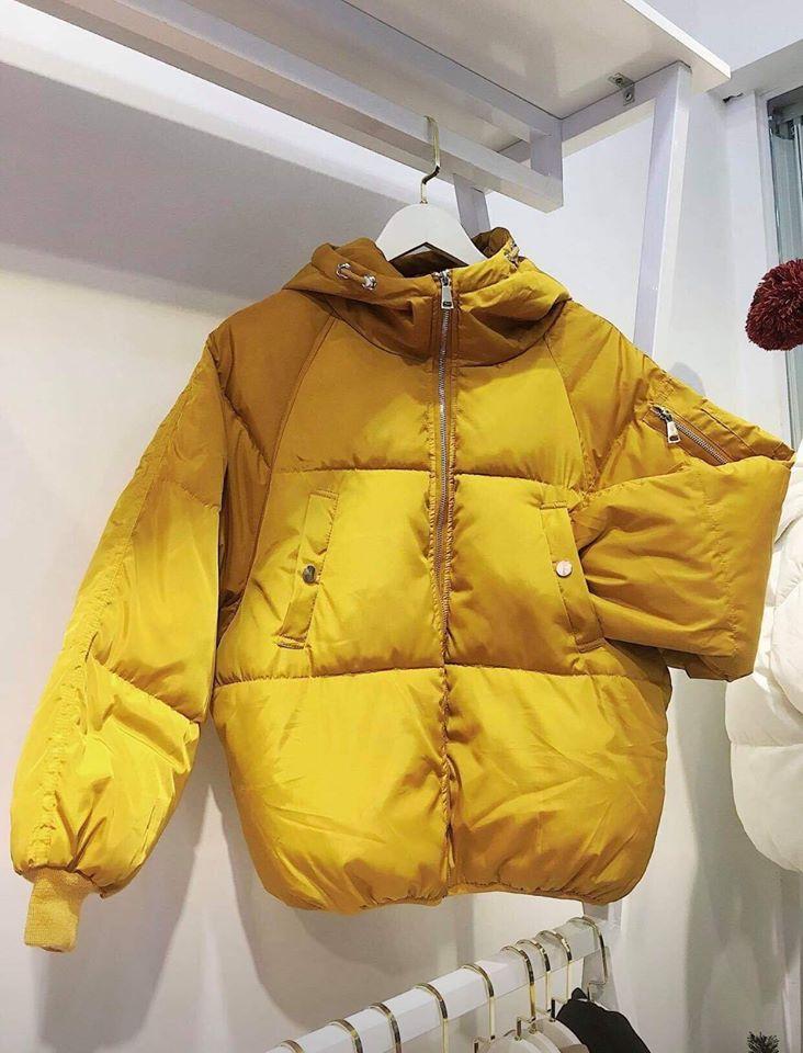 Áo khoác phao – item không thể thiếu trong mùa đông của các nàng