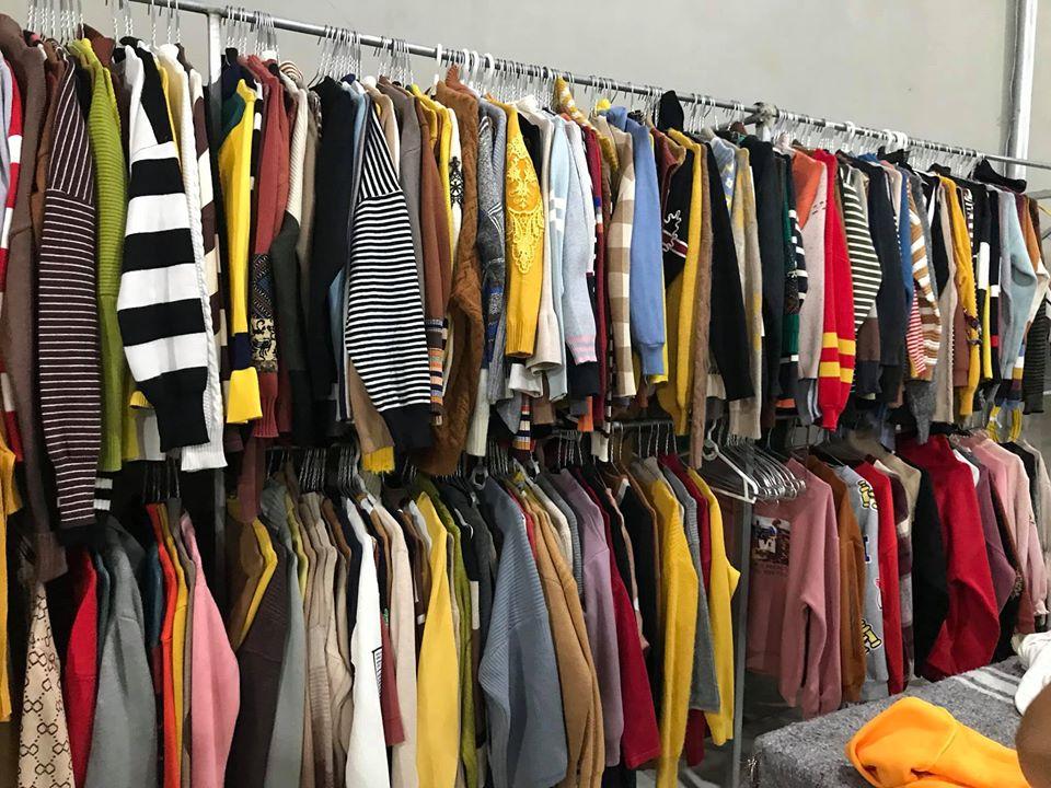 Bán buôn quần áo hàng thùng giá rẻ