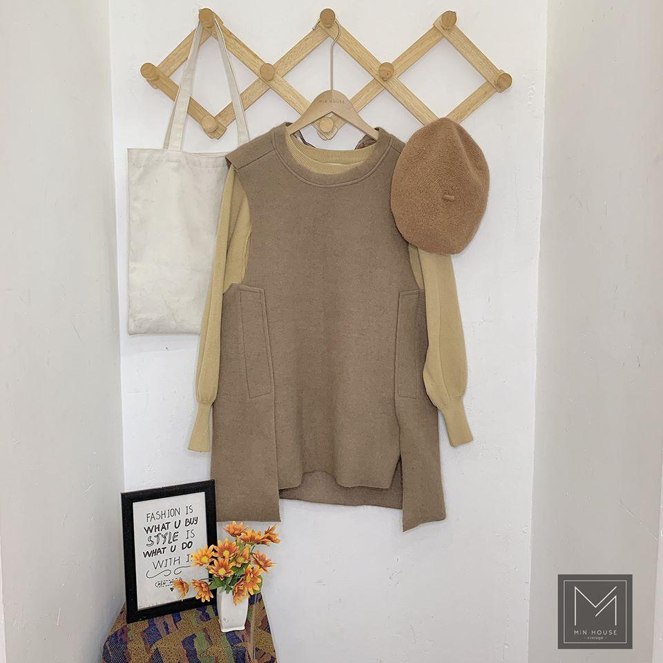 Đầm len đậm chất Hàn Quốc cho cô nàng mộng mơ