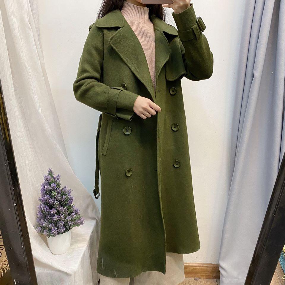Mix áo khoác màu xanh rêu sao cho thật thời thượng và chanh sả?