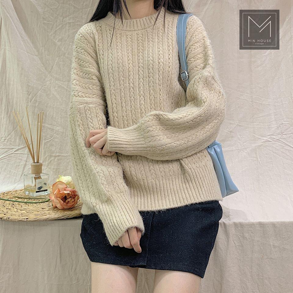 Muôn cách mix áo len đẹp cho các nàng vừa xinh vừa ấm