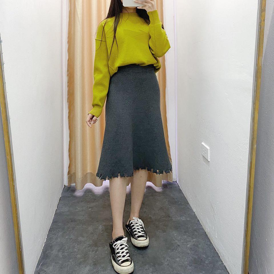 Muôn kiểu chân váy cho mùa đông thêm ấm áp và tinh tế