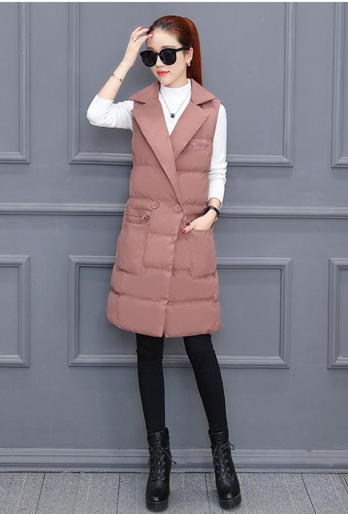 Sành điệu cùng nàng với áo khoác gile cổ vest