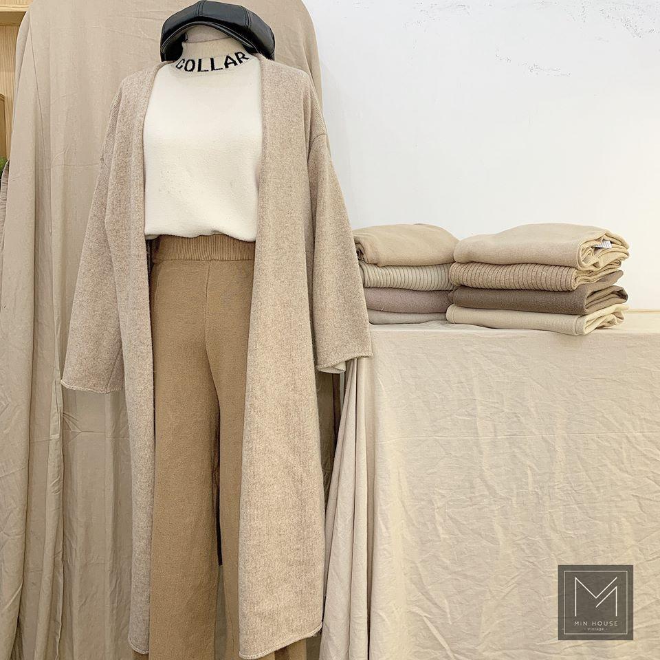 Áo cardigan dáng dài mặc sao cho thật hợp và tôn dáng?