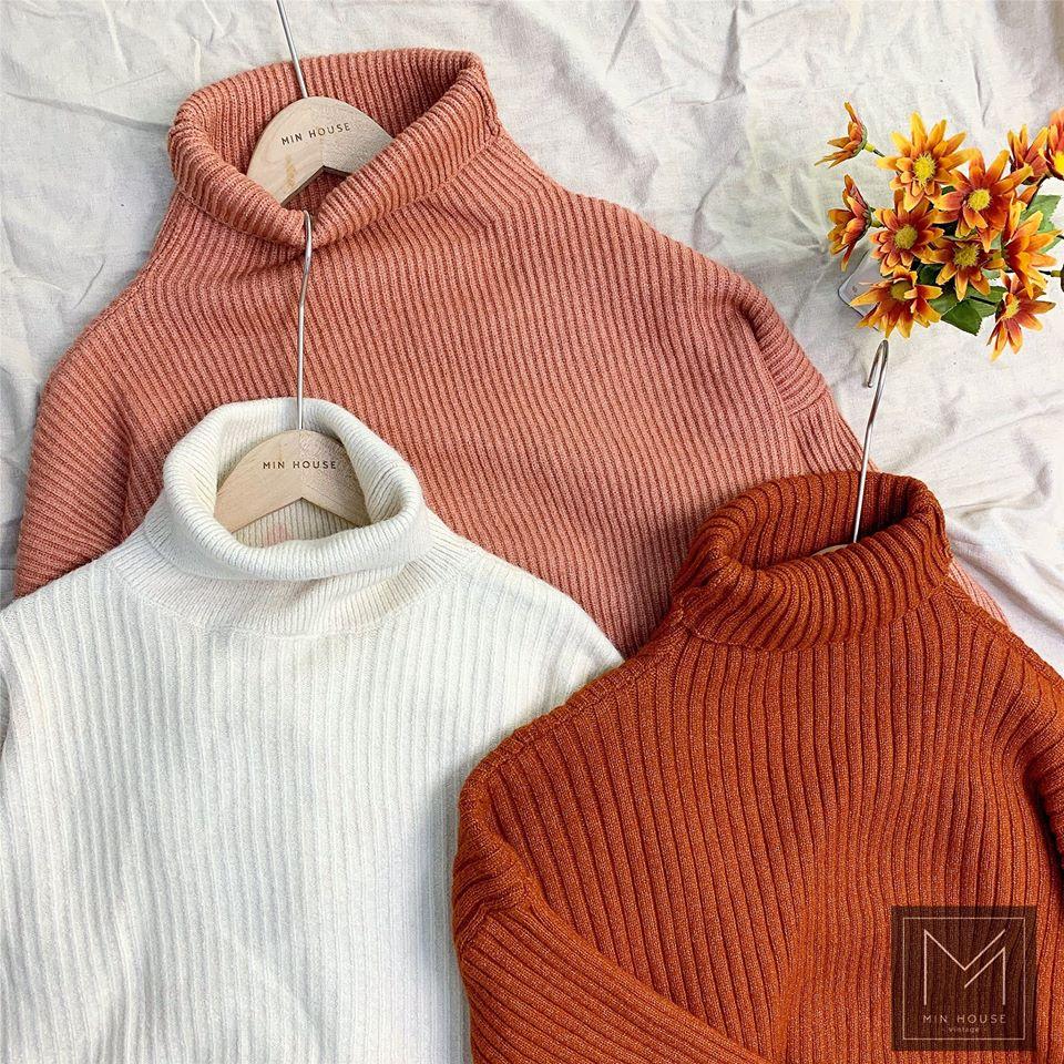 Áo len 3 phân vừa ấm vừa xinh tại Min House