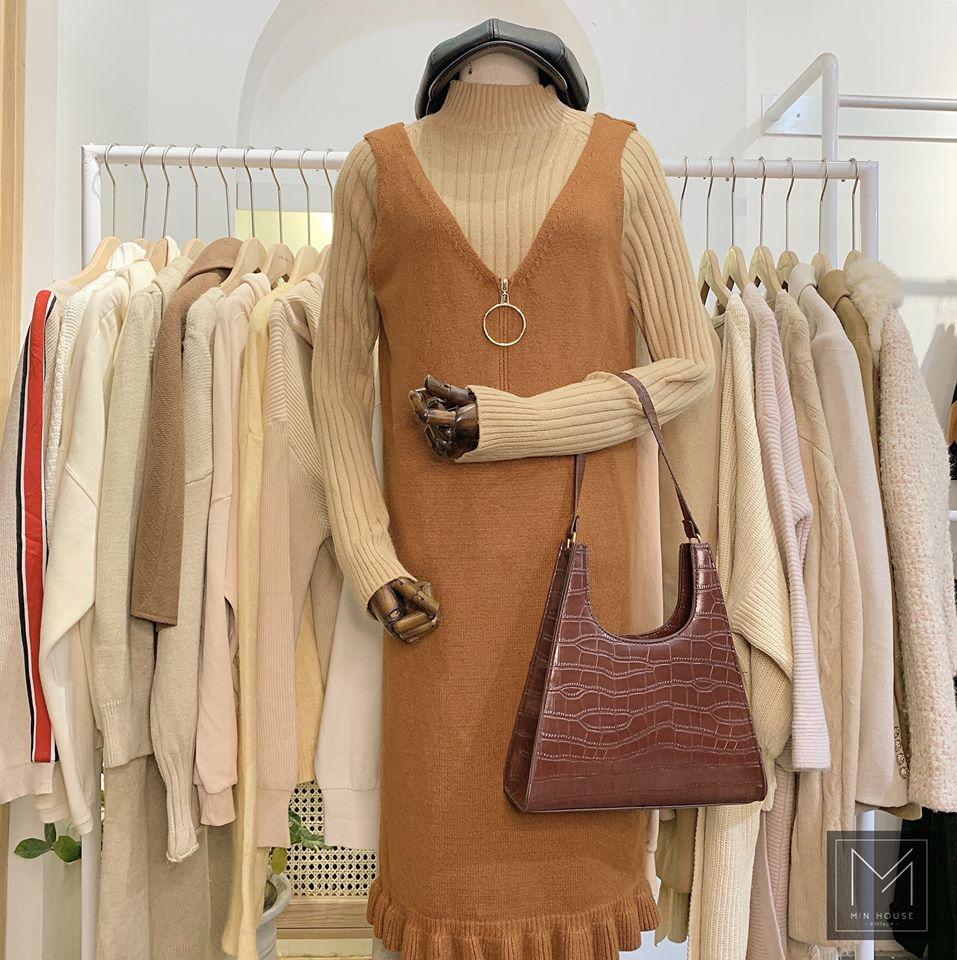 Bật mí các kiểu mix váy yếm chuẩn phong cách Hàn Quốc
