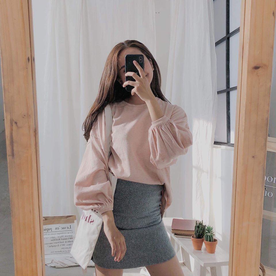 Chân váy xám mặc với áo màu gì cho nổi bật và hợp lý?