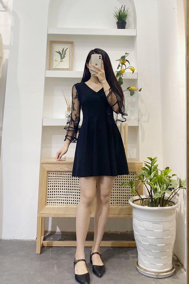 Diện váy liền màu đen sao cho đẹp mà không nhàm chán
