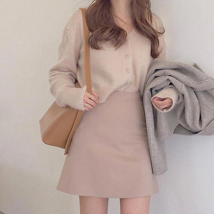 Mặc chân váy chuẩn phong cách Hàn cho nàng công sở với Min House