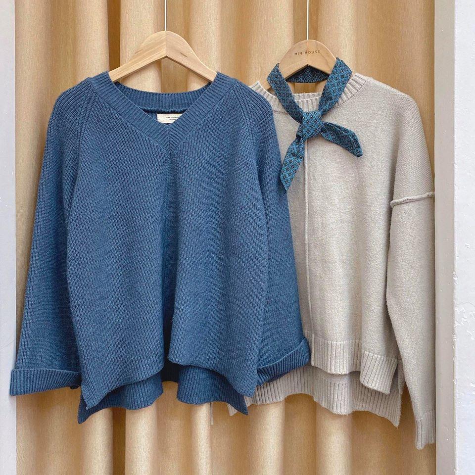 Mặc đẹp cùng Min House với màu xanh dương