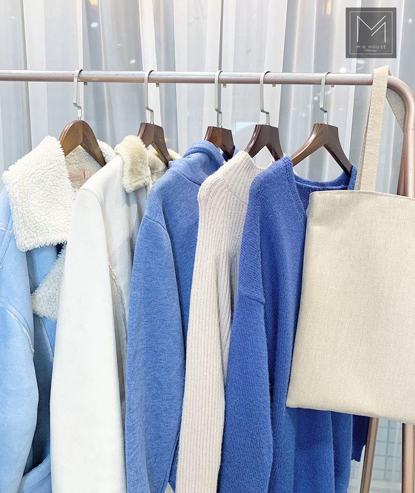 Màu xanh dương và trắng – sự kết hợp hoàn hảo để luôn nổi bật