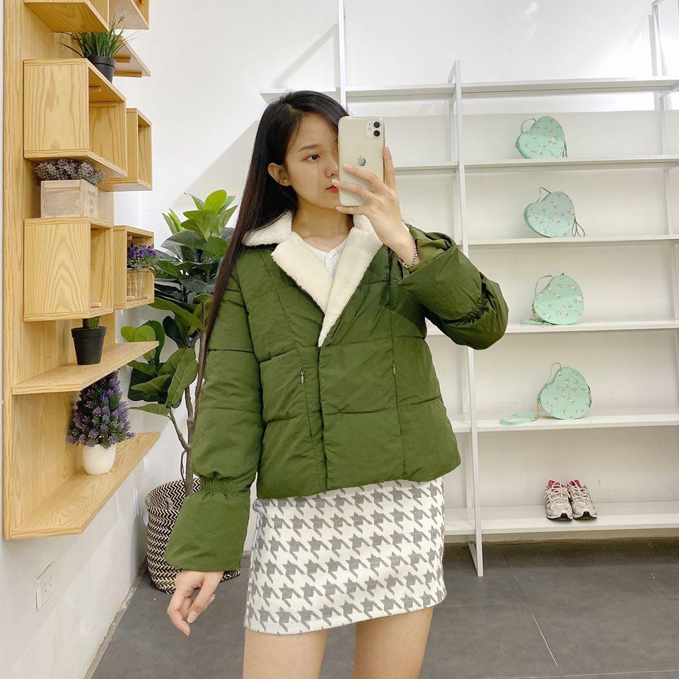 Phối đồ với sắc xanh lá đẹp và chất như fashionista