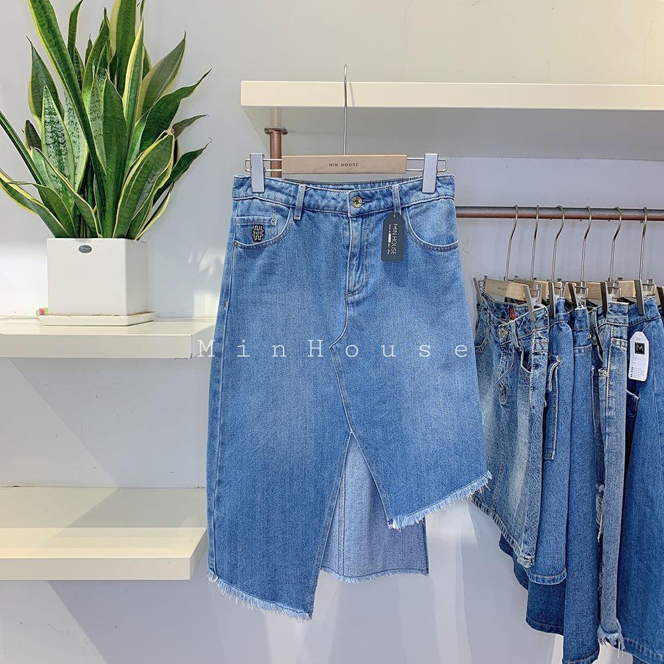 Chân váy jean – item ngày hè khiến các nàng tan chảy