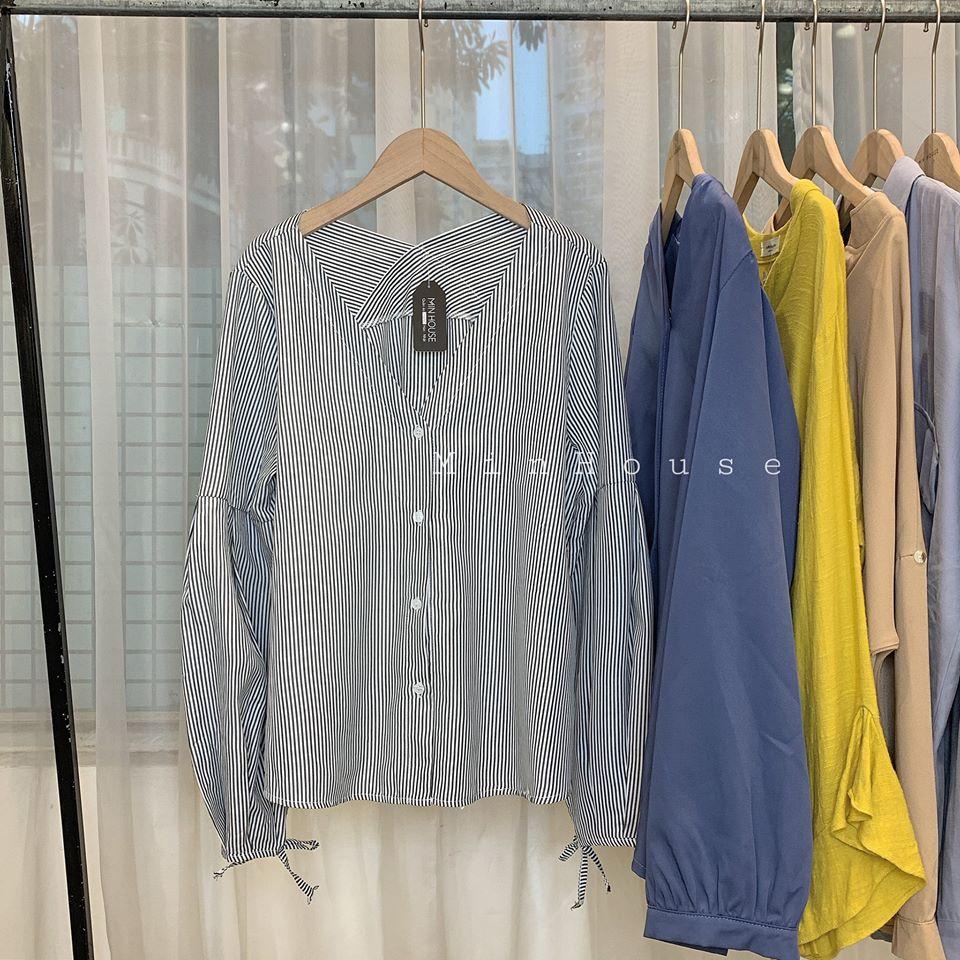 Muôn dáng áo sơ mi Hàn Quốc cho các nàng lựa chọn