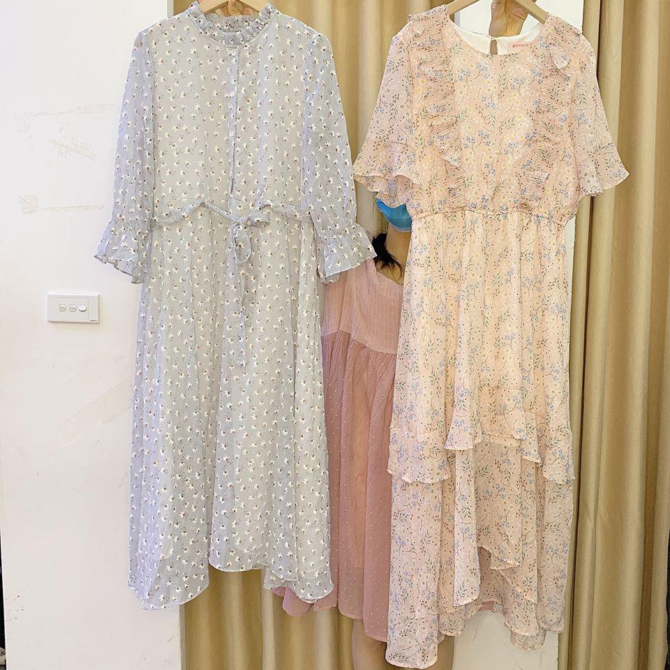 Siêu xinh với váy hoa nhí phong cách vintage