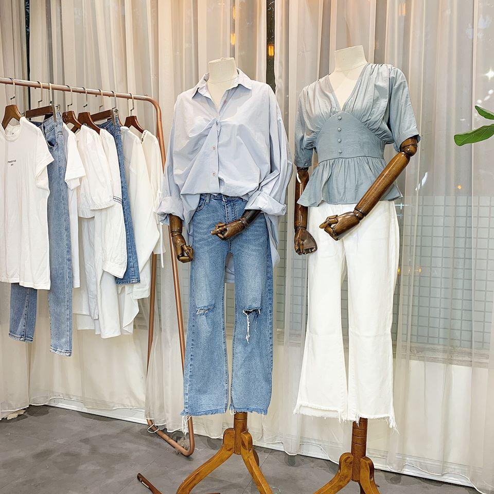 Sơ mi và quần jeans – cặp đôi bất diệt của làng thời trang