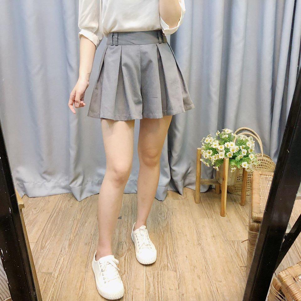 Chân váy xếp li siêu xinh cho các cô nàng hack tuổi
